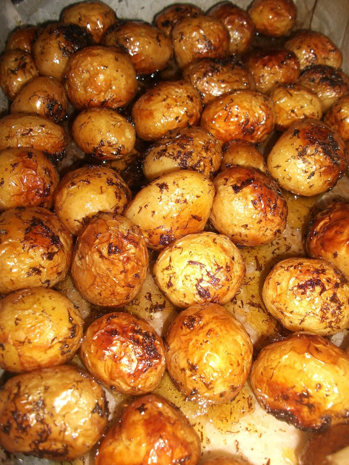 cartofi cu marar