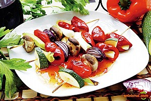 Frigărui cu ciuperci si legume