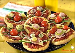 Mini pizza pentru copii