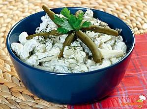 Salată cu fasole verde
