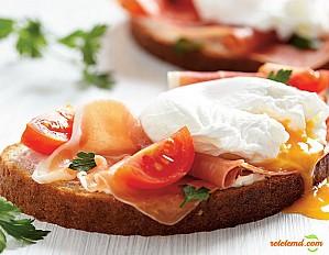 Ouă Benedict dietetice