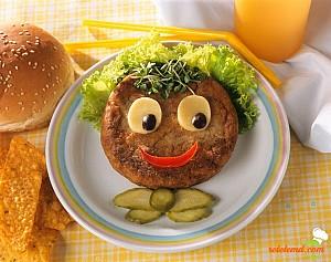 Hamburger pentru copii