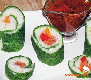 Sushi cu legume