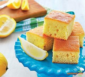 Prăjitură dietetică cu lămâie