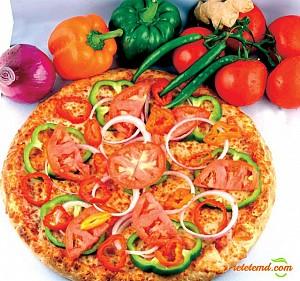 Pizza cu legume