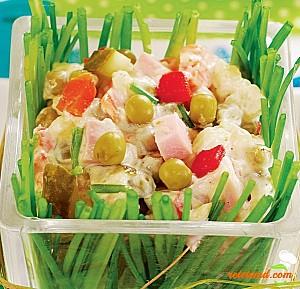 Salată de șuncă
