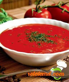 Supă-cremă de roşii