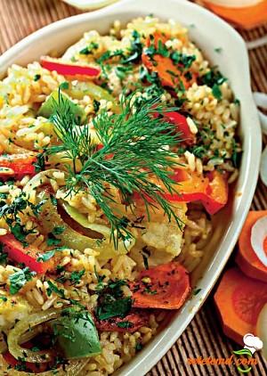 Specialitate de peşte cu orez