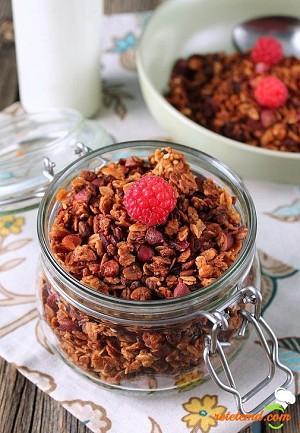 Granola - micul dejun delicios!