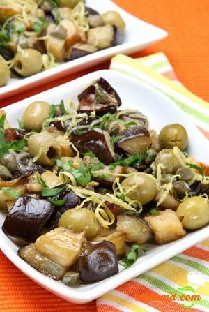 Salată de ciuperci pleurotus marinate
