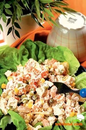 Salată cu soia