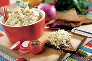 Salată de peşte cu legume