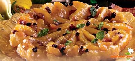 Tartă cu mandarine